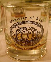 Ministry of rum tasting competition
