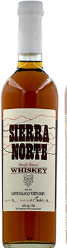 Sierra Norte Single Barrel Mexican White Whiskey