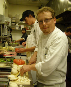 Chef michael Stoltzfus of Coquette Bistro Wine Bar - Photo By Luxury Experience
