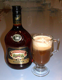 Luxury Experience Jamaican Coffee with Appleton Jamaican Rhum 12 Years Old - Photo by Luxury Experience