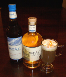 Luxury Experience Marinique Coffee with Depaz Blue Cane Rhum - Photo by Luxury Experience