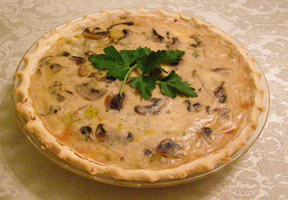 Luxury Experience Potato Leek Pie with Celtic Crossing - Photo by Luxury Experience