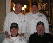Chef Michael Brewer, Erick and Chef and the Fat Man Team