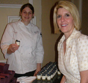 Ann C. Rogers and Jessica Mogardo Pastry Chef