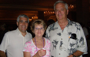 Edward F. Nesta and LEM TOC Contest Winner Mike and Nancy Young at Sippin' at 7