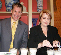 Michael Brewer and Lu Brow of Cafe Adelaide