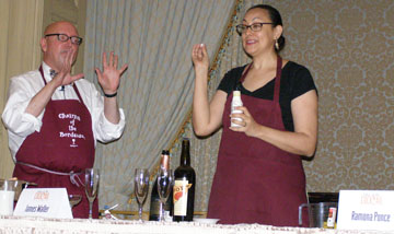 James Waller and Ramona Ponce - Wine Based Cocktails Seminar