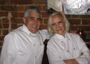 Edward F. Nesta and Debra C. Argen - Guest Bar Chefs at Coquette Bistro Wine Bar, New Orleans, LA - Photo by Luxury Experience