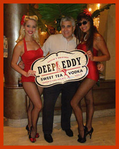 Edward Nesta and The Deep Eddy Girls at TOC 2011 - Photo by Luxury Experience