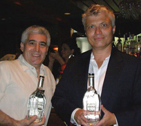 Edward F. Nesta and Master Blender Thomase Kuuttanen of Purity Vodka - Photo by Luxury Experience