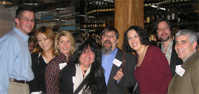 Joe Fee, Yuri Kato, Ann Rogers, Anistatia Miller, David Wondrich, Julie Reiner, Jared Brown and Edward F. Nesta