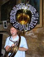 Ben Jaffe on Tuba at Rum and All That Jazz event TOC 08