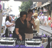 DJ's playing at Royal Street Strut TOC 08 Event