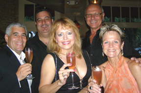 Edward Nesta and Guests Eric, Jan, Pat, and Kay at Spirited Dinner at Ralph's on the Park