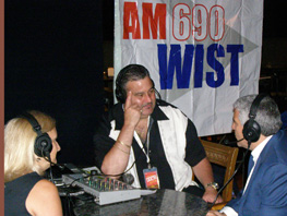 Eric Asher of AM 690 WIST and Debra and Edward