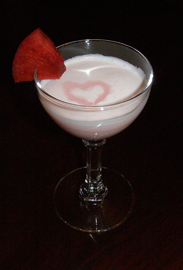 Valentine's Culinary and Cocktail menu and recipes - Luxury Experience Cupid's Kiss