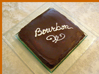 Luxury Experience - Bourbon Cake - photo by Luxury Experience