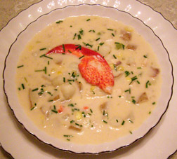 Luxury Experience Lobster and Fish Chowder - Photo by Luxury Experience