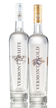 Vermont Spirits White Vodka and Vermont Spirits Gold Vodka