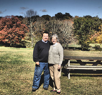 Louis and Margaret Chatey - Westford Hill Distillers - Ashford, CT - photo by Luxury Expereince