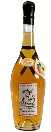 New World Aged Apple Brandy - Westford Hill Distillery