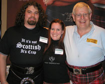 Wild Scotsman Jeff Topping, Tina Topping, and John Mcdougall