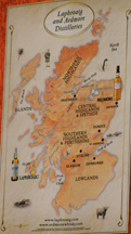 Highlands and Islays Map