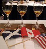 Tasting Glasses for Scotch Whisky, Canadian Whisky, and American Bourbon
