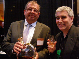 Alain Royer of Frapin Cognac, Edward Nesta - Photo by Luxury Experience