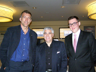 Tim Jarvis, Edward Nesta, Chris of Whyte and Mackay - Photo by Luxury Experience