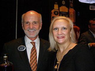 Tom Bulleit and Debra Argen - Photo by Luxury Experience
