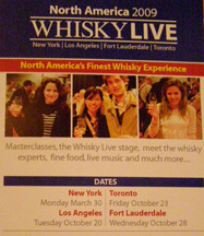 WhiskyLive 2009 New York