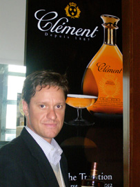 Ben Jones of Rhum Clement at Whisky Live New York - Photo by Luxury Experience