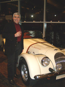 Bellvedere Car and Edward Nesta at Whisky Live New York - Photo by Luxury Experience