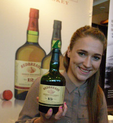 Mary Anne Byrne of Red Breat Irish Whiskey at Whisky Live New York - Photo by Luxury Experience