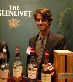 The Glenlivet at Whisky Live New York - Photo by Luxury Experience