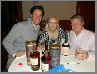 Ben Jones, of Clement, Debra Argen, and David Ransom - Photo by Luxury Experience