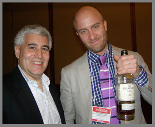 Edward Nesta, Craig Bridger - Glenlivet Whisky - photo by Luxury Experience