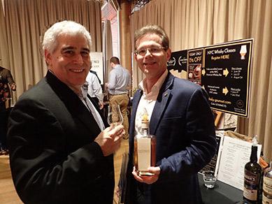 Franck Mounier, Edward F. Nesta - Whisky Live NYC 2019 - photo by Luxury Experience