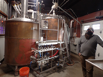Josh Metz - Woodbury Brewing Company - Woodbury, CT - photo by Luxury Experience