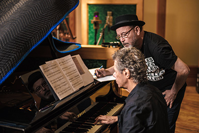 Chick Corea and Ruben Blades