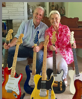 Randall Bell and Phyllis Fender - Leo Fender - The Quiet Giant Heard Around The World