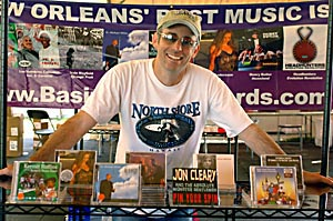 Mark Samuels of Basin Street Records