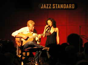 Luciana Souza and Romero at Jazz Standard