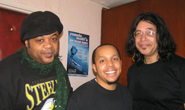 Ronnie Scott's November 2005 - Jeff Tain Watts (guest performer), Marcus Baylor, Jimmy Haslip