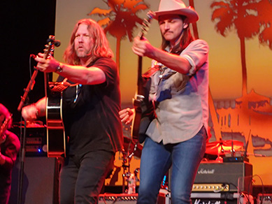 Devon Allman, Duane Betts - The Allman Betts Band - photo by Luxury Experience