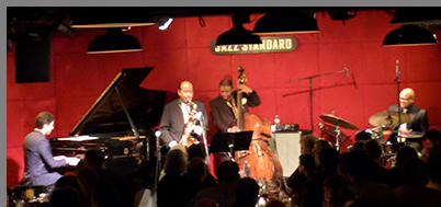 Benny Golson Quartet at Jazz Standard NYC - photo by Luxury Experience