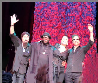 Beth Hart and her band - photo by Luxury Experience