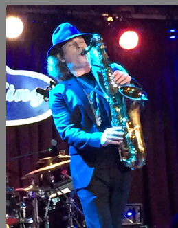 Boney James at B.B. Kings NYC - photo by Luxury Experience