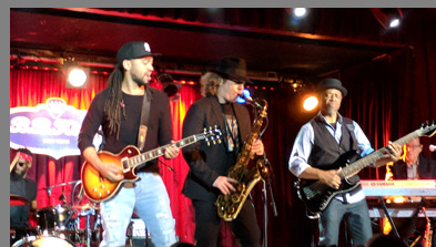 Boney James, Kendall Gilder, Smithy Smith at B.B. Kings NYC - photo by Luxury Experience